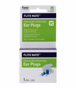 Flents Flite Mate Pressure Reducing Ear Plugs Flight Ear Plugs F407-006