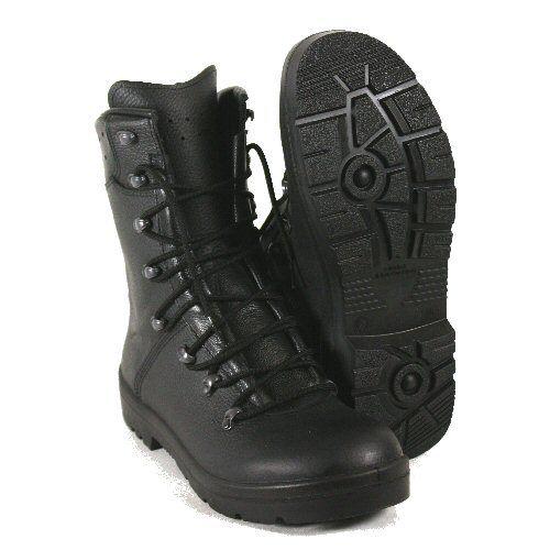NUOVO NON EMESSI Nero di Cuoio Tedesco Forze tutti tutti tutti Combat Tactical Assault Stivali 5911fa