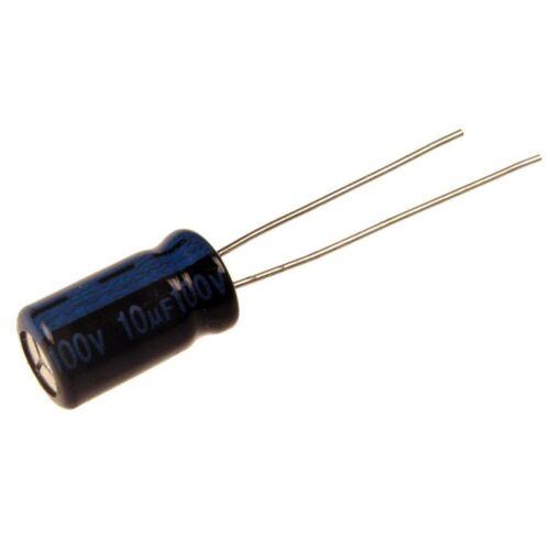 30 Elko Kondensator radial Jamicon TK 10uF 100V 105°C 073417