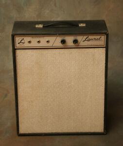 Laurel 1960's Vintage Vacuum Tube Hand Wired Guitar Amplifier