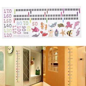 Removable-Growth-Chart-Kids-Height-Measure-Tool-Room-Wall-Decal-Decor-Sticker