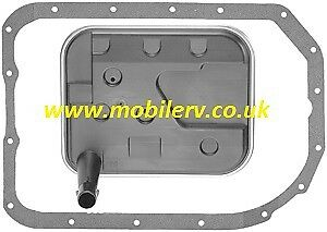 American Motorhome RV Trans Filter /& Gasket Kit GM 4L80E