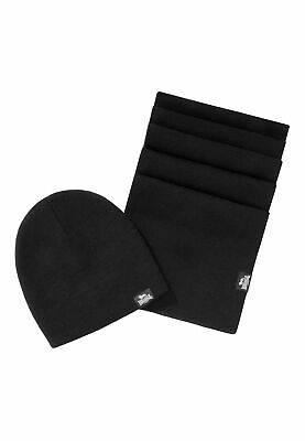 Lonsdale Unisex Hat And Scarf Set Leafield