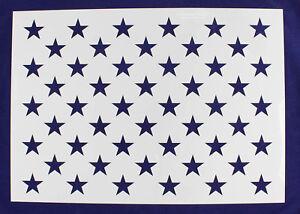 Us G Spec 15 59 X 22 50 Star Field Painting Crafts Stencil