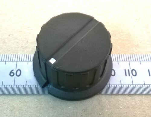 Controllo Nero o Fornello Manopola Per METRICA 6.0mm Albero Vite senza testa lama piatta