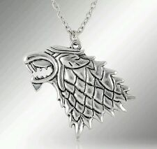Game of Thrones Dragon Wolf Necklace Pendant Charm Collectible Gift Present