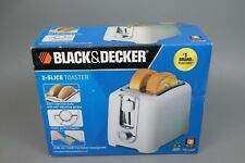 Black /& Decker TR1256B 850-Watt 2-Slice Toaster with Bagel Function and Removable Crumb Tray