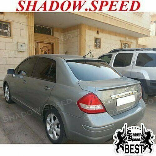 Stock 280 BRS Type Rear Roof Spoiler Wing For NISSAN 2004-09 VERSA TIIDA Sedan