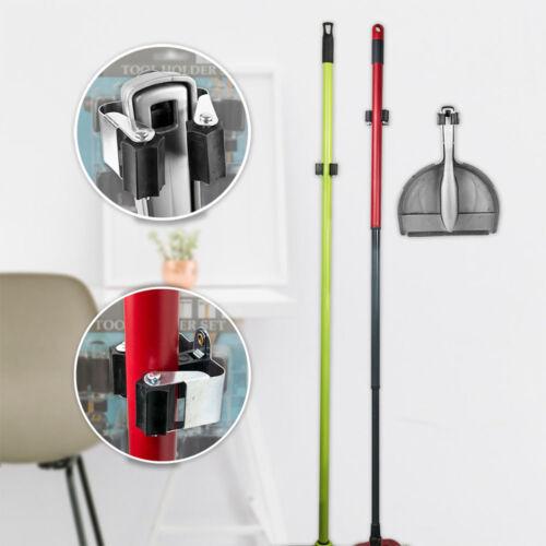 4x Porte-outil support appareil outil Pinces Support Mural équipement de jardin