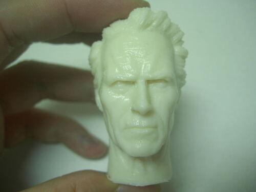 "1//6 scale UNFORGIVEN custom CLINT Eastwood Head sculpt Resin for 12/"" figure"