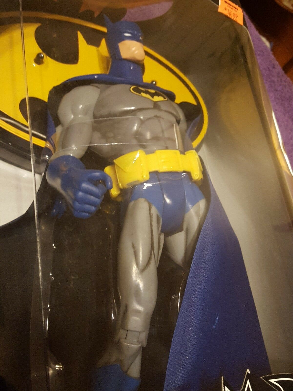2004 DC 12 12 12  Batman Collector's Edition bluee And Grey 8c67ca