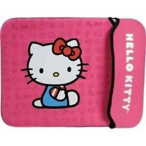 Hello-Kitty-Pink-Neoprene-Sleeve-Cover-for-Netbook-Notebook-w-Screen-up-to-10-2-034