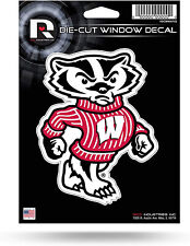 Wisconsin Badgers Bucky Badger 4x4 Perfect Cut Decal