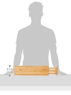 New Lipper International Bamboo Deep Kitchen Drawer Dividers Set Of 2 Ships Free 26914889708 Ebay
