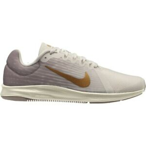 Damen-Nike-Downshifter-8-Laufschuhe-UK-8-us-10-5-eur-42-5-Beige-Gold