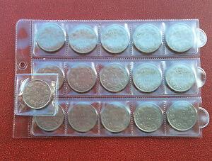 LOT-de-16-monnaies-differentes-1-BELGA-1930-31-32-33-FR-et-VL-position-A-B