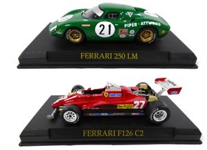 IXO Altaya DIECAST MODEL CAR KJ01 Ferrari F126 C2 Villeneuve F1 1:43