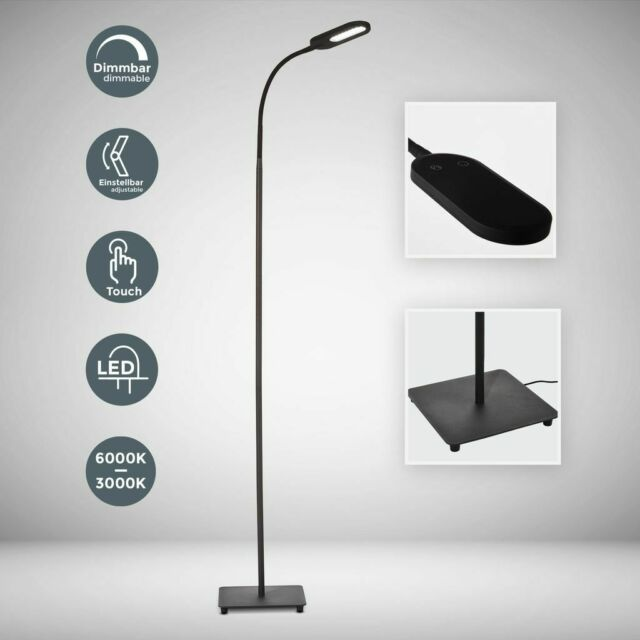 TRIO LED DECKENFLUTER Fluter 422310207 180cm 15W +2,5W Lampe
