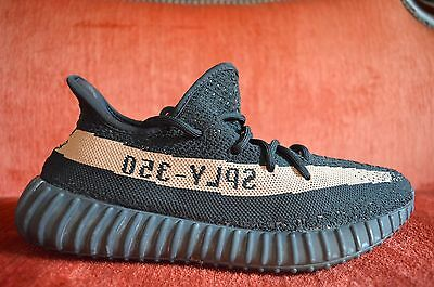 327371e1b ADIDAS X YEEZY BLACK COPPER TAN 350 BOOST V2 BY1605 Size 9 OG ALL