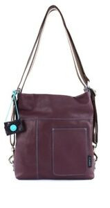 be3114f09d207 Image is loading Gabs-Clarissa-Shoulderbag-S-Schultertasche-Handtasche- Bordeaux-Rot