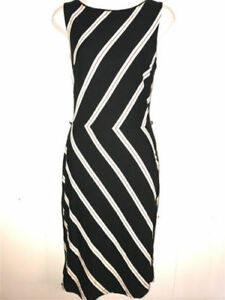 Sheath Dress DIAGONAL STRIPES Multicolor Belted 6 P NEW WHITE HOUSE ... 87ff1c9b7