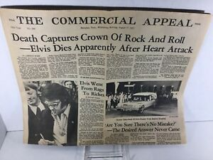 Elvis-August-1977-Commercial-Memphis-Death-Newspaper-SHIPS-FROM-MEMPHIS