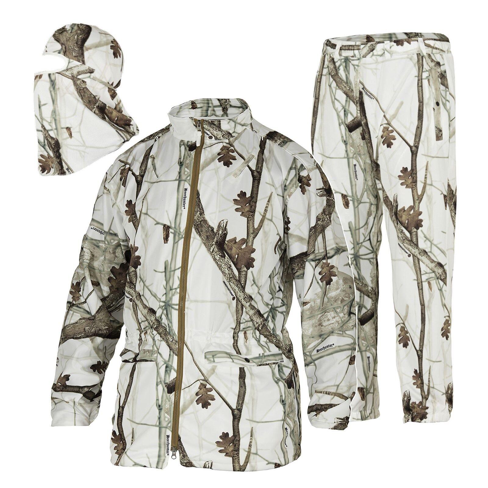 Tenue Snow Veste Pantalon Masque 47-Innovation Snow Camo Deerhunter 2118