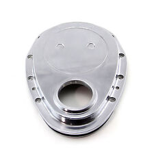SBC Aluminum Timing Chain Cover 350 383 Small Block Chevy Polished Aluminum