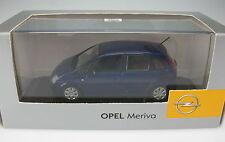 MINICHAMPS - OPEL Meriva A - blau metallic - 1:43 - NEU in OVP – Modellauto