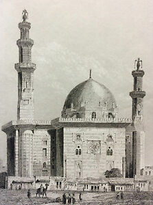 Africa-North-Egypt-Mosque-of-Sultan-Hassan-An-Nasir-Al-Hasan-Mamluk-XIX