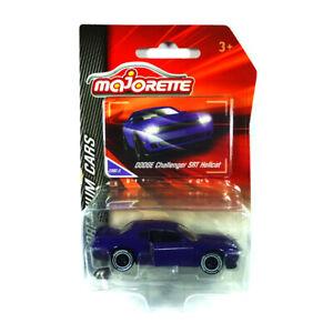 Majorette 212053052 Dodge Challenger SRT Hellcat Premium Cars Violet