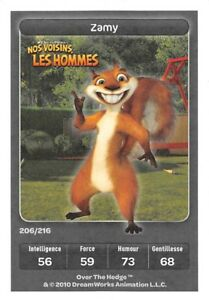 Card-Carrefour-Dreamworks-Nos-Neighbors-Men-Hammy-Special-No-206