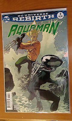 1st Print DC Aquaman 8 # 20 Joshua Middleton Variant Vol
