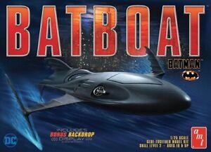AMT-Batman-Returns-Batboat-1-25-scale-model-kit-new-1025