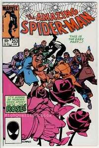 Amazing-SPIDER-MAN-253-VF-1st-Rose-Betrayed-1963-more-ASM-in-store