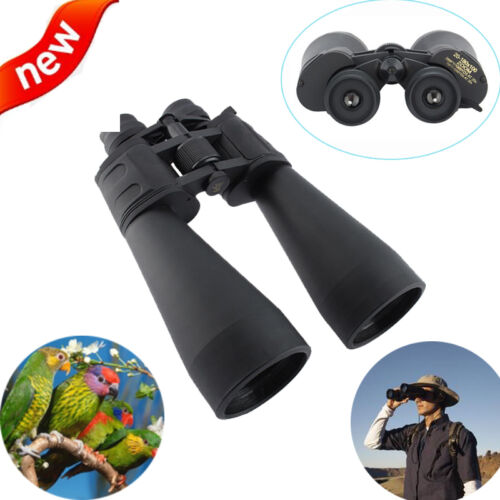 180 x 100 Zoom Day Night Vision Outdoor Travel Binoculars Hunt Telescope+Case