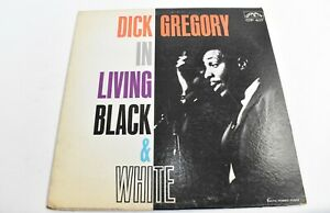 Dick-Gregory-In-Living-Black-And-White-VINYL-LP