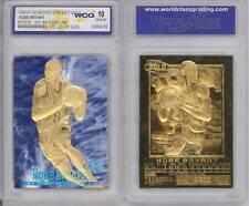 KOBE BRYANT 1996-97 Skybox EX-2000 Credentials 23KT Gold Card GEM MINT 10 SKY