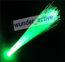 """G4 LED """"Lichtfaser Lichtleiter"""" Optical Fiber Licht Leuchte Lampe DC 12V Grün"""