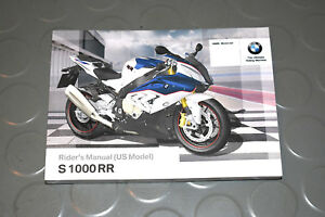 2015 bmw s 1000 rr s1000rr s1000 motorcycle owners riders manual rh ebay com 2015 bmw s1000rr owners manual 2012 bmw s1000rr repair manual