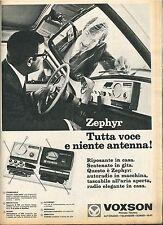 ZEPHIR VOXSON, Tutta voce e niente antenna! - ADVERTISING
