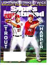 May 2013 Bryce Harper Mike Trout Sports Illustrated For Kids NO LABEL WB