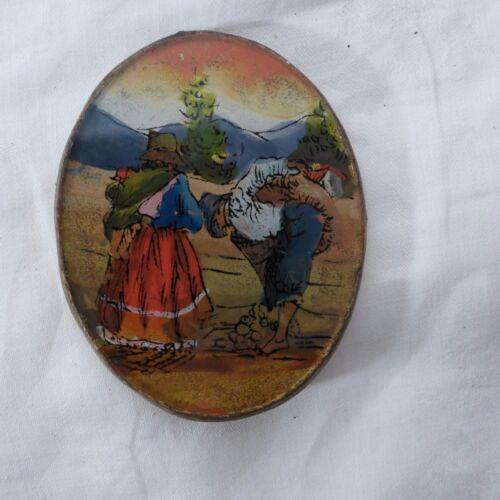 Hinterglasmalerei aus Peru