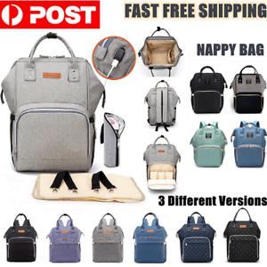 Luxury-Multifunctional-Baby-Diaper-Nappy-Mummy-Backpack-Waterproof-Changing-Bag
