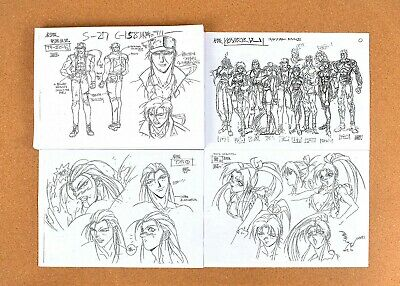 Fatal Fury The Motion Picture Settei Sheets Ebay
