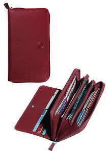 Kleidung & Accessoires Tony Perotti Cortina Damen Geldbörse 19 X 10 Cm Rot Echtes Italienisches Leder Modische Und Attraktive Pakete