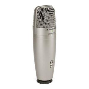 Samson C01U Pro USB Studio Condenser Microphone | Tripod Stand