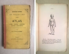 DICTIONNAIRE UNIVERSEL DE MEDECINE ATLAS ANATOMIE PHYSIOLOGIE MEDICINA 1863