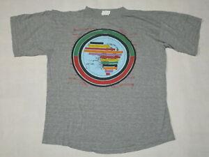 Dr-Alban-Club-Tour-1991-Vintage-VTG-T-Shirt-TShirt-Grau-Grey-Gr-XL-ca-L