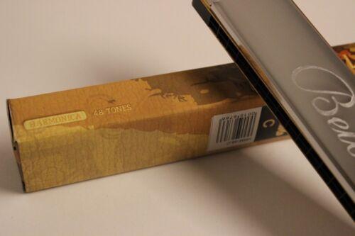 Mundharmonika Harp C Belcanto 48 chörig Tremolo mehr als 100 x verkauft NEU!!